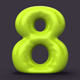 3D Balloon Numbers - GraphicRiver Item for Sale