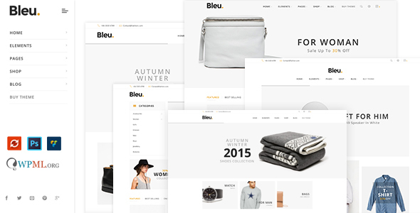 Bleu – Fashion Responsive WooCommerce Theme