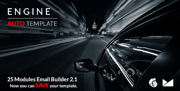 Engine Email Template + Online Emailbuilder 2.1