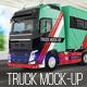 Truck Mock-Up - GraphicRiver Item for Sale