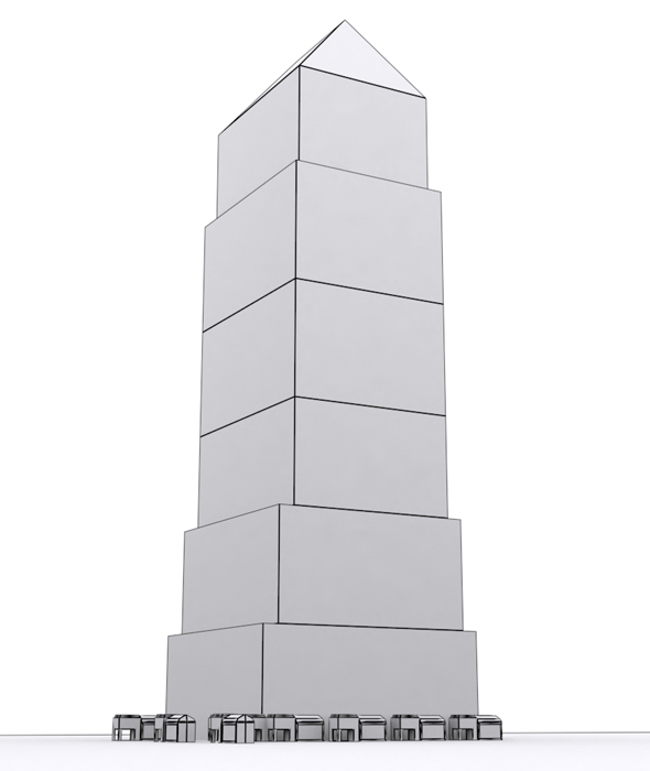 Low Poly Tower 2 - 3DOcean Item for Sale