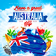 Australia Day Party Flyer vol.2 - GraphicRiver Item for Sale