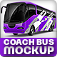 Tourist Branded bus Mock-up - GraphicRiver Item for Sale
