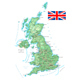 United Kingdom - Detailed Topographic Map - GraphicRiver Item for Sale