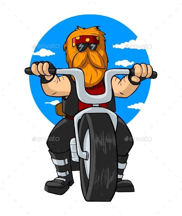 Biker - People Characters