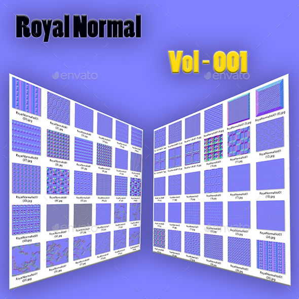 Royal Normal Vol-001 - 3DOcean Item for Sale