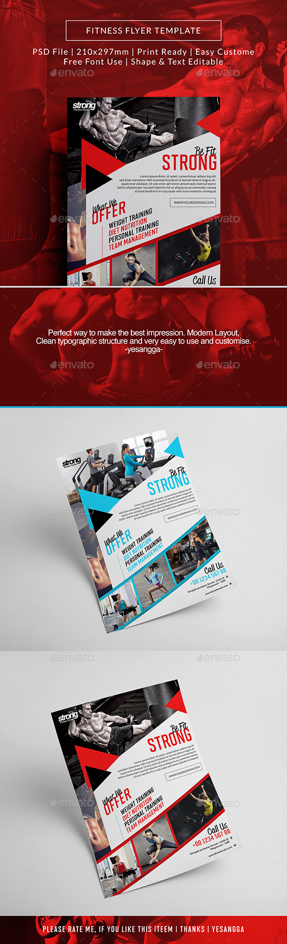 Flyer Fitness - Sports Events