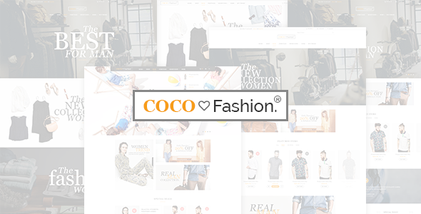 Coco - Fashion eCommerce HTML5 Template - Fashion Retail