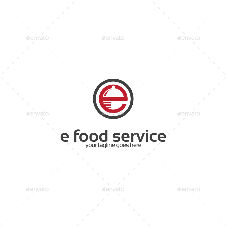 Letter E Food Service Logo By Stocklogos Graphicriver