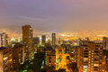 Cityscape of Medellin at night, Colombia - PhotoDune Item for Sale