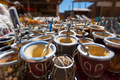 Yerba mate cups sold in the market in Puente del Inca - PhotoDune Item for Sale