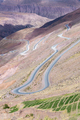 Road in the colored mountain near Purmamarca, Argentina - PhotoDune Item for Sale
