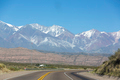 Famous road Ruta 7 and the Andean mountains - PhotoDune Item for Sale
