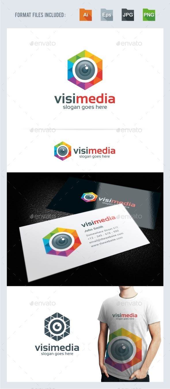 Vision Media - Photography Logo Template - Symbols Logo Templates