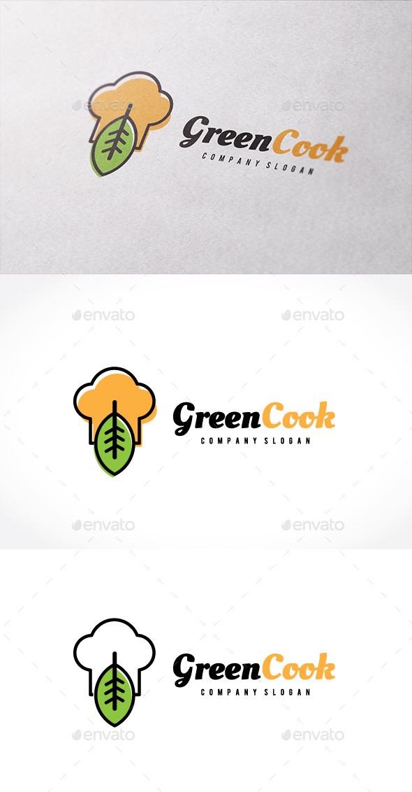 Green Cook - Nature Logo Templates