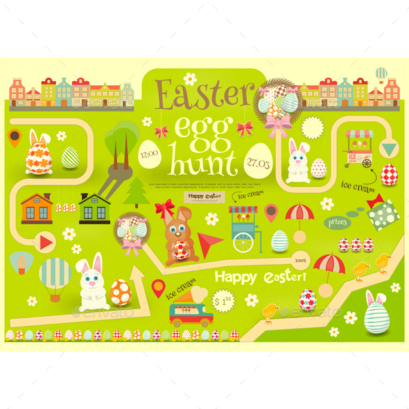 Easter Egg Hunt - Miscellaneous Seasons/Holidays