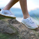 Shoes Walking On Rock - VideoHive Item for Sale