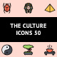 The Culture Icons 50 - GraphicRiver Item for Sale