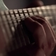 The Right Hand Of The Guitarist Plays Blues Pitch - VideoHive Item for Sale