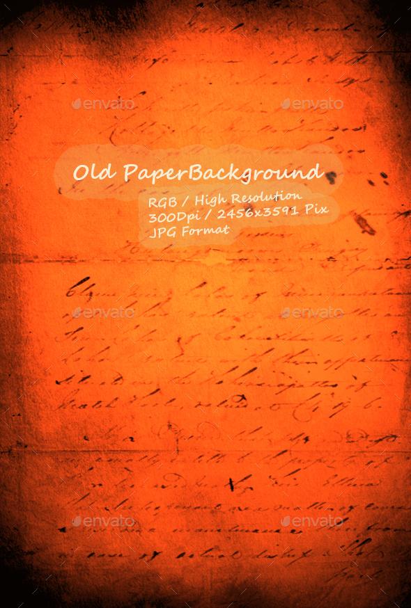 Old Paper 0261 - Paper Textures
