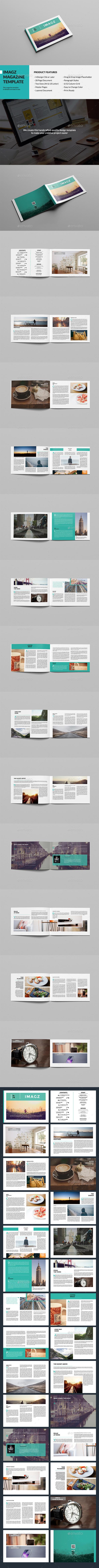 Imagz Landscape Magazine - Magazines Print Templates