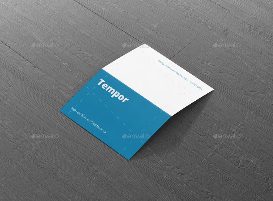 Folded business card mockup by visconbiz graphicriver folded business card mockup flashek Gallery