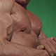 Bodybuilder Biceps Straining - VideoHive Item for Sale