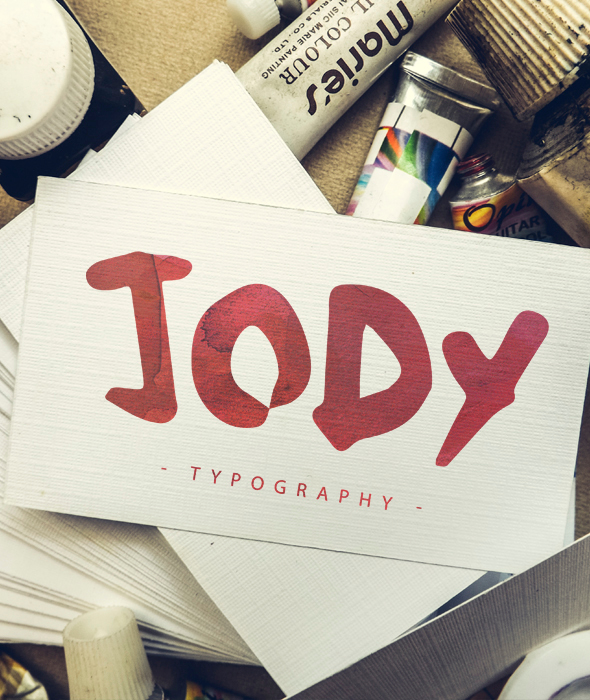 My name is Jody - Handwriting Fonts