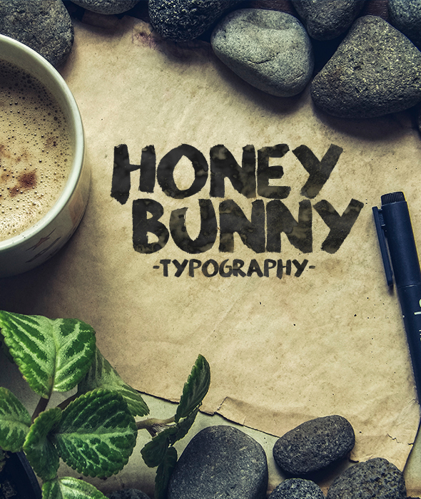 Honey Bunny Script Typeface - Handwriting Fonts