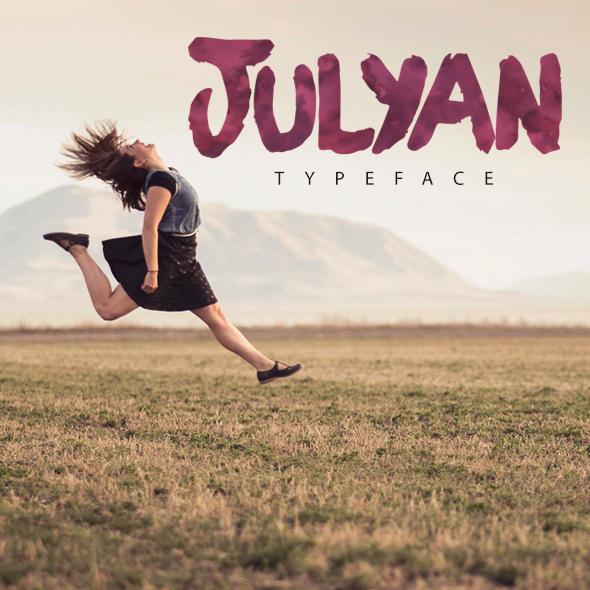 Julyan Typeface - Handwriting Fonts