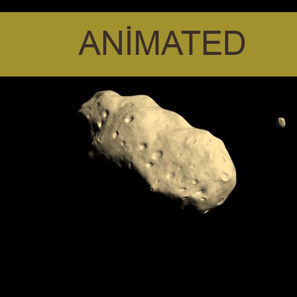 Asteroid Ida and the moon Daktyl - 3DOcean Item for Sale