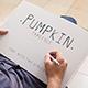 Pumpkin Script Typeface - GraphicRiver Item for Sale