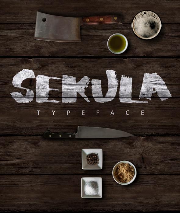 Sekula Script Typeface - Handwriting Fonts