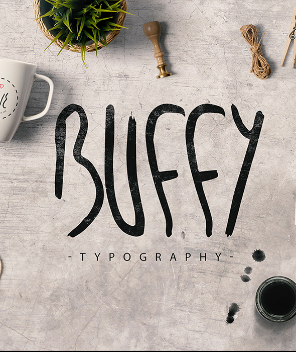 My name is Buffy - Handwriting Fonts