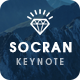 SOCRAN - Clean & Modern Keynote Template - GraphicRiver Item for Sale