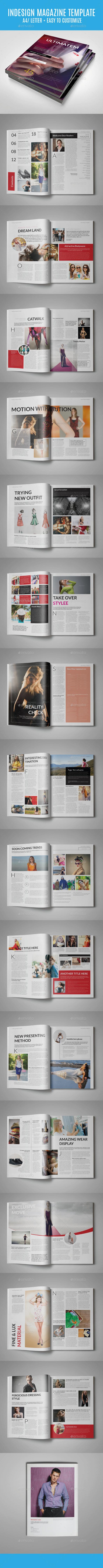 Indesign Ultimatem - Magazines Print Templates