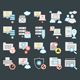 Web Content Management Icons - GraphicRiver Item for Sale