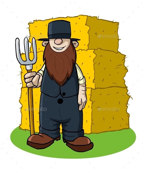 Amish - People Characters