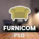 Furnicom - Multipurpose eCommerce PSD Template