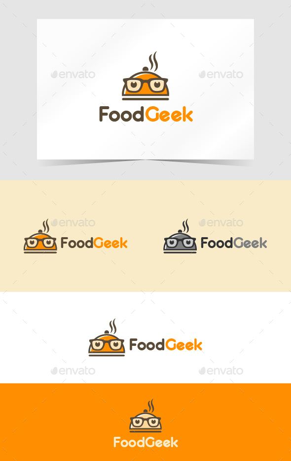 Food Geek Logo - Food Logo Templates