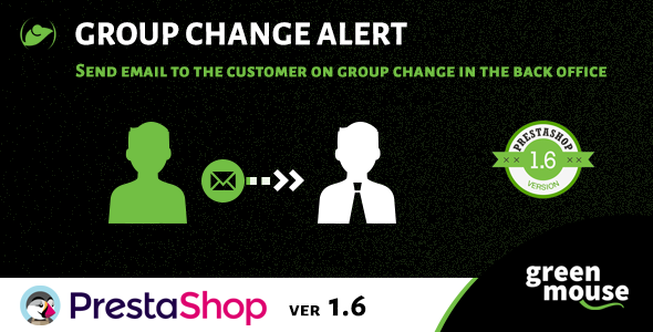 Prestashop Group Change Alert - CodeCanyon Item for Sale
