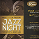 Jazz Event Flyer/Poster Vol.10 - GraphicRiver Item for Sale