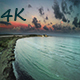 Aerial Sea after the Sunset - VideoHive Item for Sale