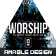 Worship Church Flyer - GraphicRiver Item for Sale