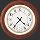 Antique Clock in Wooden Case 1 - VideoHive Item for Sale