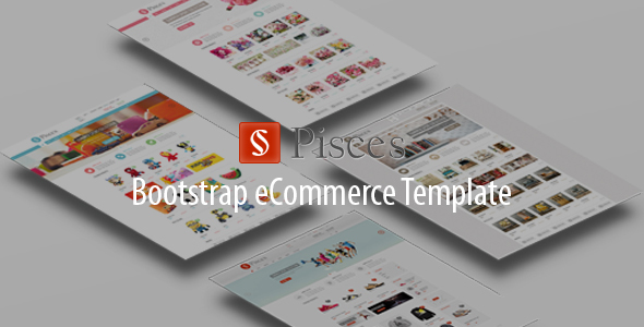 Pisces - Multipurpose Bootstrap eCommerce Template - Shopping Retail