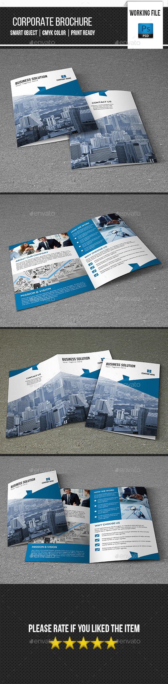 Corporate Bifold Brochure-V331 - Corporate Brochures