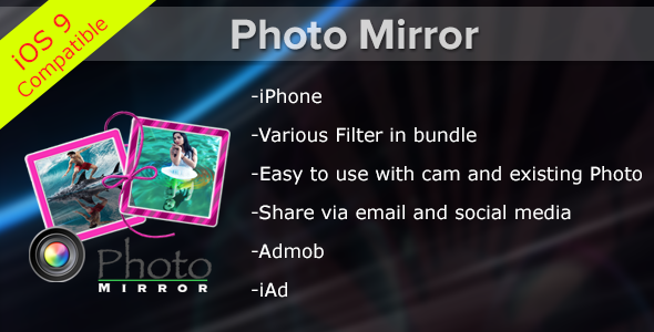 Photo Mirror Effects	 - CodeCanyon Item for Sale