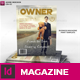 Owner - Business Magazine - GraphicRiver Item for Sale