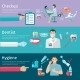 Teeth Care Horizontal Banners - GraphicRiver Item for Sale